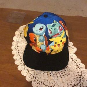 Pokémon youth snap back hat